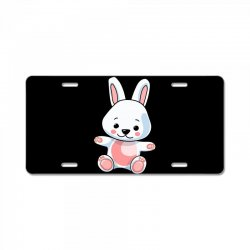 Bunny rabbit License Plate | Artistshot