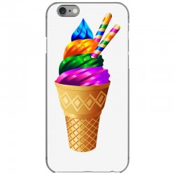 Ice cream flavours iPhone 6/6s Case | Artistshot