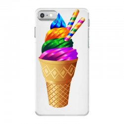 Ice cream flavours iPhone 7 Case | Artistshot