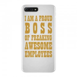 Iam A Proud Boss (gold) iPhone 7 Plus Case | Artistshot