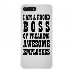 Iam A Proud Boss (black) iPhone 7 Plus Case | Artistshot