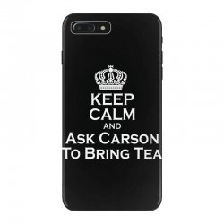 Ask Carson (white) iPhone 7 Plus Case | Artistshot
