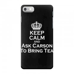 Ask Carson (white) iPhone 7 Case | Artistshot