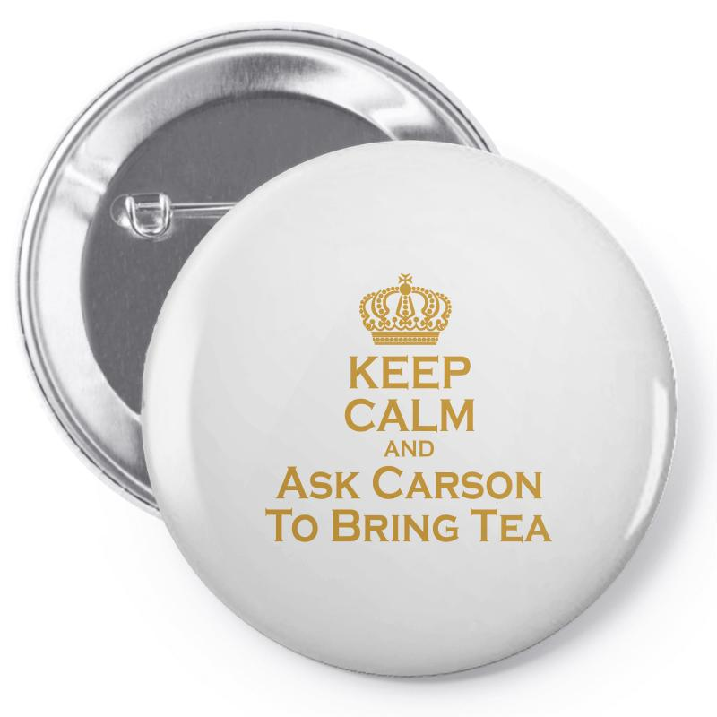 Ask Carson (gold) Pin-back Button | Artistshot