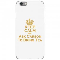 Ask Carson (gold) iPhone 6/6s Case | Artistshot