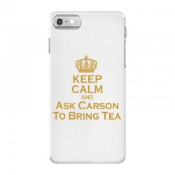 Ask Carson (gold) iPhone 7 Case | Artistshot