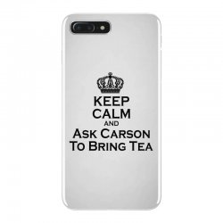 Ask Carson (black) iPhone 7 Plus Case | Artistshot