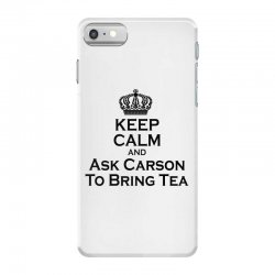Ask Carson (black) iPhone 7 Case | Artistshot