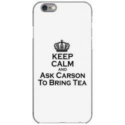 Ask Carson (black) iPhone 6/6s Case | Artistshot