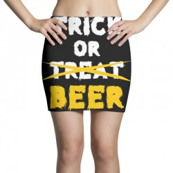 Trick or Treat (white) Mini Skirts | Artistshot