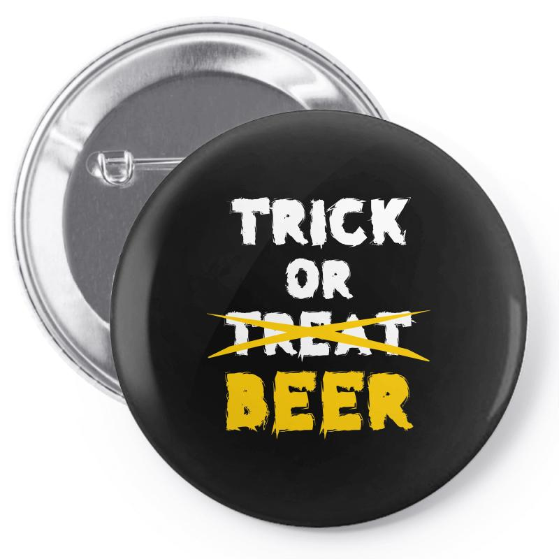 Trick Or Treat (white) Pin-back Button | Artistshot