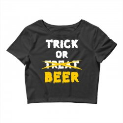 Trick or Treat (white) Crop Top | Artistshot