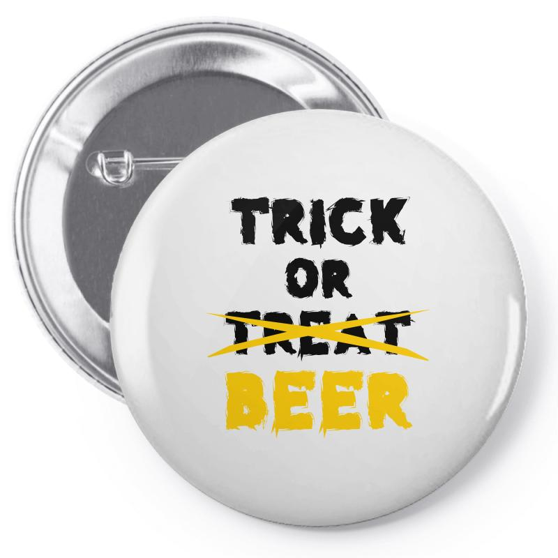 Trick Or Treat (black) Pin-back Button | Artistshot