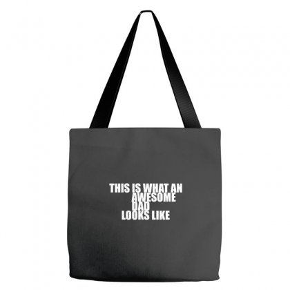 Awesome Dad Tote Bags Designed By Equinetee