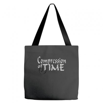 Compression Of Time Tote Bags Designed By Equinetee