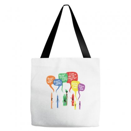 Complementary Colors Tote Bags Designed By Equinetee