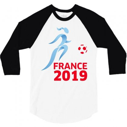 Women World Cup 2019 3/4 Sleeve Shirt Designed By Anrora