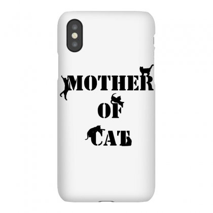 Mother Of Cat Iphonex Case Designed By Wizarts