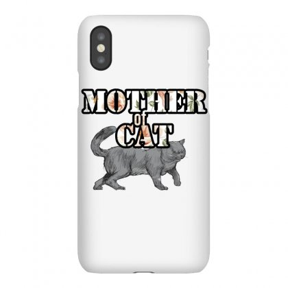 Mother Of Cat 1 Iphonex Case Designed By Wizarts