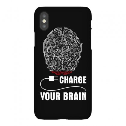 Charge Your Brain Iphonex Case Designed By Wizarts
