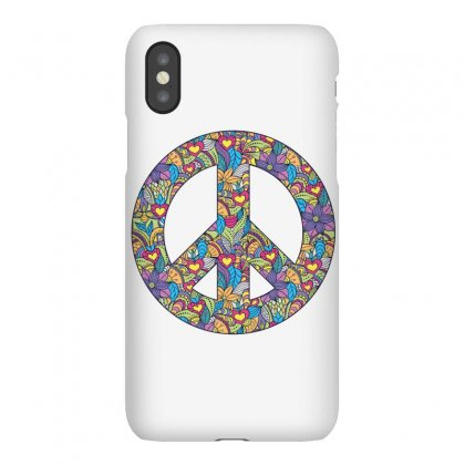 Peace Iphonex Case Designed By Wizarts