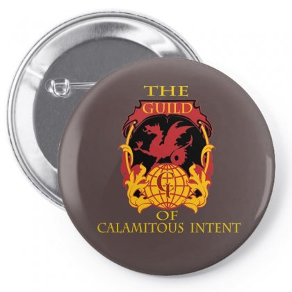Guild Of Calamitous Intent Pin-back Button Designed By Arum
