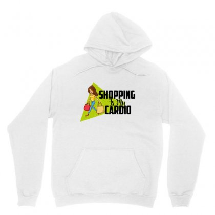 Shopping Is My Cardio Unisex Hoodie Designed By Wizarts