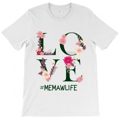 Love Memawlife T-shirt Designed By Wizarts