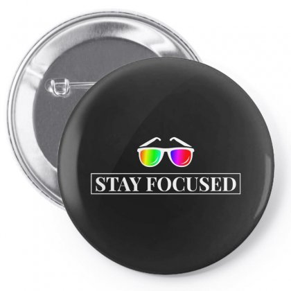 Focused Pin-back Button Designed By Ratna Valen