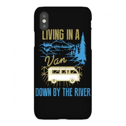 Living In A Van Down By The River Iphonex Case Designed By Wizarts