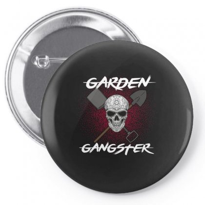 Garden Gangster Pin-back Button Designed By Wizarts
