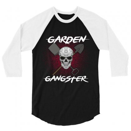 Garden Gangster 3/4 Sleeve Shirt Designed By Wizarts