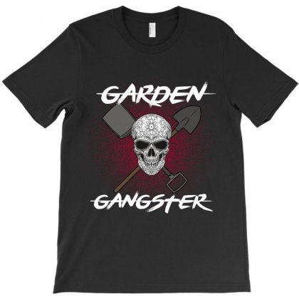 Garden Gangster T-shirt Designed By Wizarts