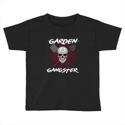 Garden Gangster Toddler T-shirt Designed By Wizarts