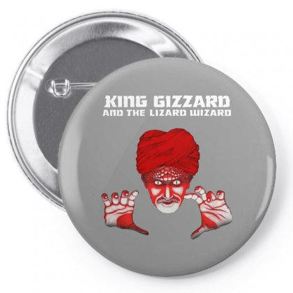 King Gizzard And The Lizard Wizard Pin-back Button Designed By Arum