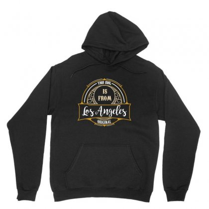 This Girl Is From Los Angeles Original Unisex Hoodie Designed By Wizarts
