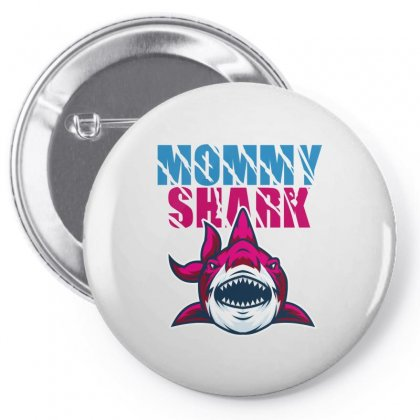 Mommy Shark Pin-back Button Designed By Wizarts