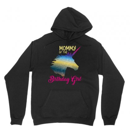 Mommy Of The Birthday Girl Unisex Hoodie Designed By Wizarts