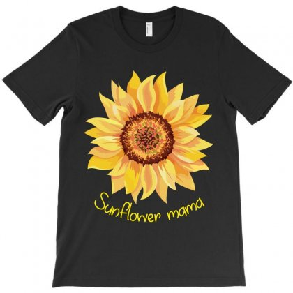 Sunflower Mama T-shirt Designed By Wizarts