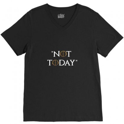 Not Today Air Arya V-neck Tee Designed By Arum