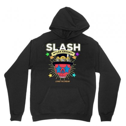 Living The Dream Slash Unisex Hoodie Designed By Andi's