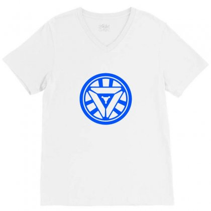 Arc Reactor   New Element V-neck Tee Designed By Irawan