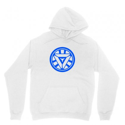 Arc Reactor   New Element Unisex Hoodie Designed By Irawan