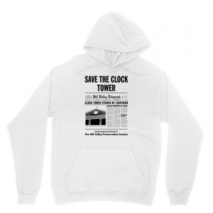 Save The Clock Tower Unisex Hoodie Designed By Irawan