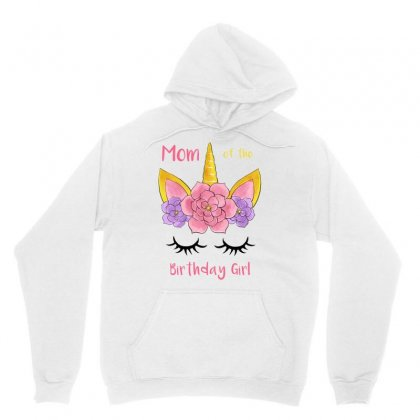 Mom Of The Birthday Girl Unisex Hoodie Designed By Akin
