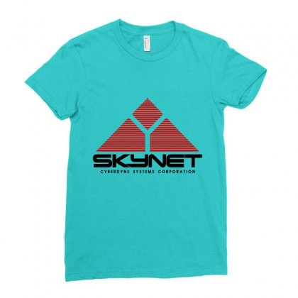 Skynet Ladies Fitted T-shirt Designed By Irawan