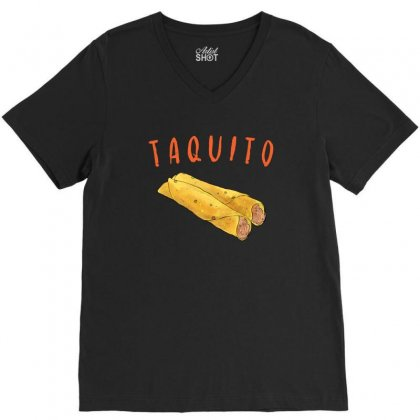 Taquito V-neck Tee Designed By Akin