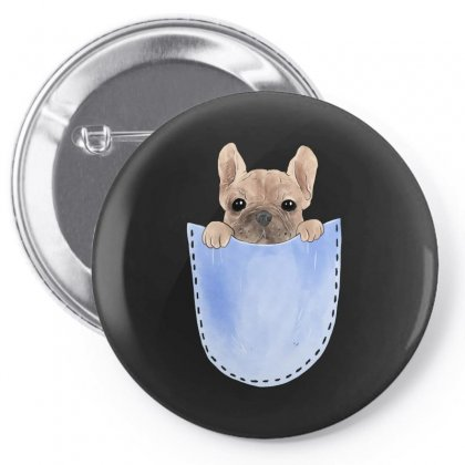 Pocket Pug Pin-back Button Designed By Akin