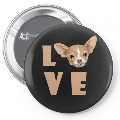 Love Dog Pin-back Button Designed By Akin
