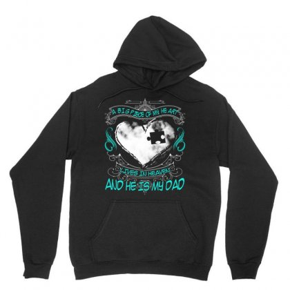 A Big Piece Of My Heart Lives In Heaven Unisex Hoodie Designed By Kakashop